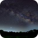 Milky Way over Lake Hawkins,                                Chris Barthel