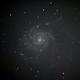 M 101 - Pinwheel Galaxy,                                André Wiget