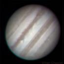 Jupiter December 29, 2014,                                Chappel Astro