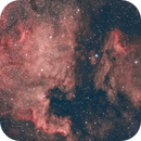 North American & Pelican Nebulae,                                Alan Hobbs