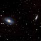 Bode's Galaxy & Cigar Galaxy   M81 (NGC 3031) & M82 (NGC 3034),                                schmaks