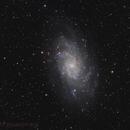 M33 Triangulum Galaxy,                                tobiassimona