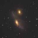 NGC4438 NGC 4435,                                Станция Албирео