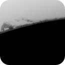 Solar prominence - inverted,                                Brian Ritchie