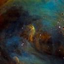 Running Chicken Nebula, IC 2944,                                rallyho