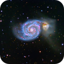M51 Whirlpool Galaxy,                                Jerry Macon