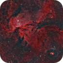 NGC 6188 - The fighting dragons of Ara (Narrowband HOO Palette),                                Diego Cartes