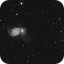 M51 Whirlpool Galaxy,                                Thomas Hellwing
