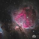 M42 Orion Nebula,                                Graem Lourens