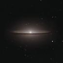 Sombrero Galaxy w/ C8,                                Jeffrey Horne