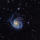 M101 - The Pinwheel Galaxy,                                Frederick Steiling