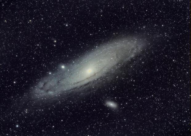M31 Andromeda Galaxy,                                Carl Weber