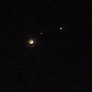Mond,ISS, Venus,                                Bruno