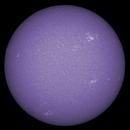 Sun FD in CaK 19th of July 2021 - colorized,                                Arne Danielsen