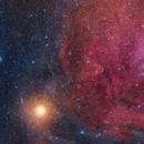 Betelgeuse and SH2-264,                                Maxim