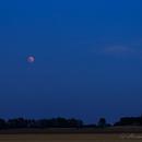 Total Lunar Eclipse 2018/07/27 Landscape,                                Hermann Mühlichen