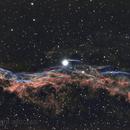 NGC6960 - Veil Nebura Narrow Band,                                astrotaxi