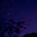 Mond und Venus,                                Silkanni Forrer