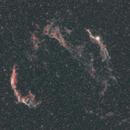 Veil supernova on Nikkor 135 F11,                                Alessandro Iannacci
