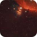 The Horse and the Ghost - ASI2600MC-P First Light - B33 and M78,                                Timothy Martin & Nic Patridge