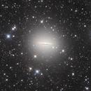 Sombrero Galaxy with a faint tidal loop,                                Pleiades Astrophotography Team
