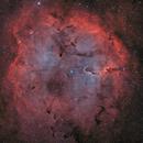 IC 1396-nébuleuse de la trompe d'éléphant HOO,                                astromat89