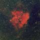 Gum 51  - Emission nebula in Norma -  494mm - April 2019 - HOS (26X600s, 17X900s, 17X900s),                                Gabe van den Berg