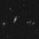 Messier 106 wide field,                                Markus Blauensteiner