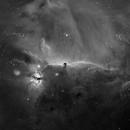 Horse Head Nebula  in HA, 16 Panel Mosaic,                                Doug Lalla