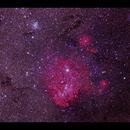 The Running Chicken Nebula IC 2944 from Lizard Island,                                Göran Nilsson