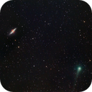 Comet Panstarrs T2 with M81 and M82,                                Shannon Calvert