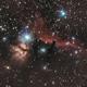Orion: Pferdekopfnebel und Flammen-Nebel.,                                Matthias Groß