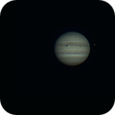 Jupiter and its moons (Ganymede, Io, Europa and her shadow),                                Adel Kildeev