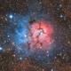 M21 - Trifid Nebula,                                Riccardo Balia
