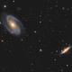 M81 & M82,                                Bert Scheuneman