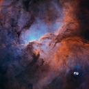 NGC 6188 - The Fighting Dragons of Ara,                                EmuHead