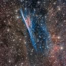 Pencil Nebula LRGBHOO,                                Scotty Bishop