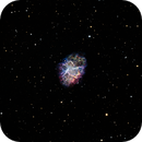 Crab Nebula Supernova Remnant (M1),                                Scott Denning