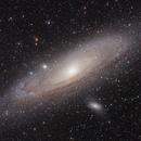 M31 1-hour quickie, ASI1600MMC first light,                                Jari Saukkonen
