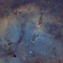 IC 1396 - Elephants Trunk - SHO,                                Jonas Illner