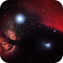 Horsehead & Flame Nebula in HaRGB,                                David Schlaudt