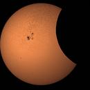 Partial Solar Eclipse, 23 Oct 2014,                                Jeremy Seals