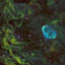NGC6888 en SHO,                                Georges