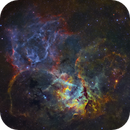 Sh2-132 - The Lion Nebula (Multi-Level Processing),                                Yannick Akar