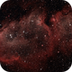 Soul Nebula with RASA 8 and Optolong L Enhance,                                  Roman
