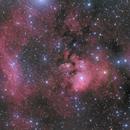 NGC7822 and SH2-171,                                Janos Barabas