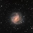 My first mono Galaxy - M83 southern pinwheel in LHaRGB,                                robonrome