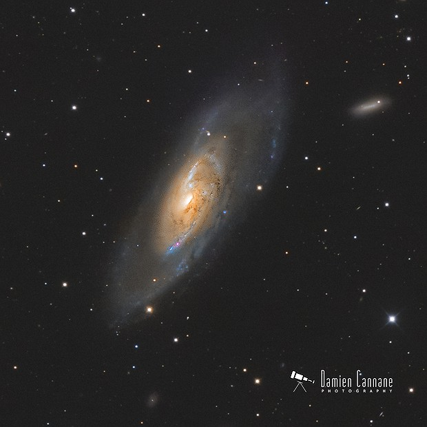 Messier 106,                                Damien Cannane