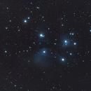 M45 - the seven sisters // 480mm fl,                                Olli67