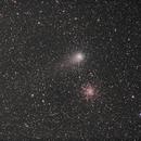 Comet Garradd near M71 globular,                                Rauno Päivinen